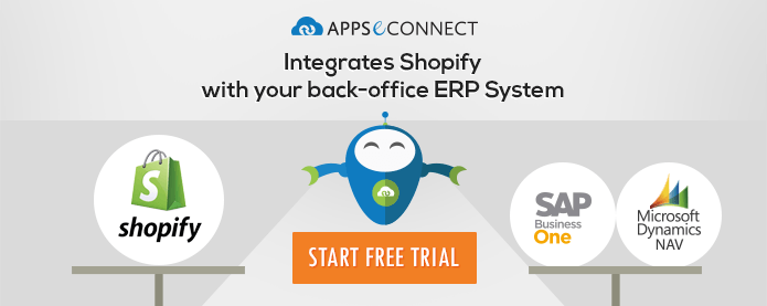 Integrate your Shopify stores with ERP