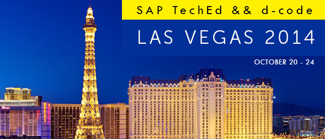 SAP TechEd & d-code in Las Vegas