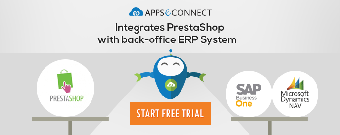 Integrate Prestashop with ERP