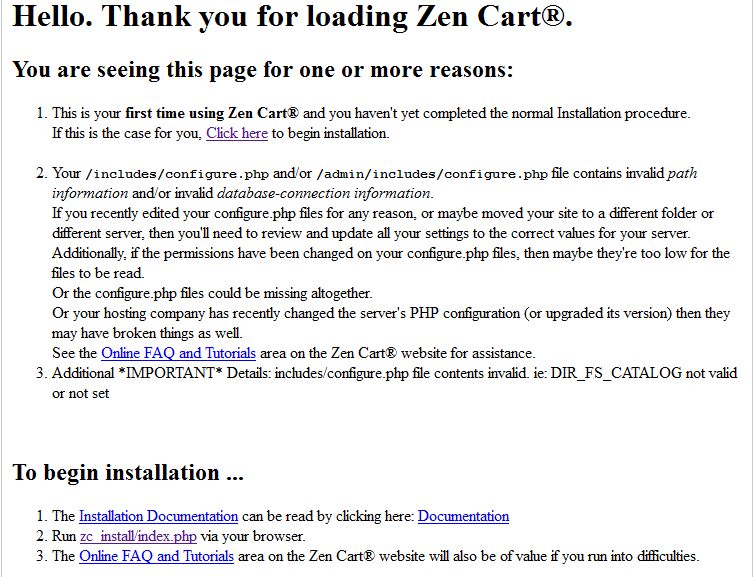 How to install ZenCart on WAMP server localhost