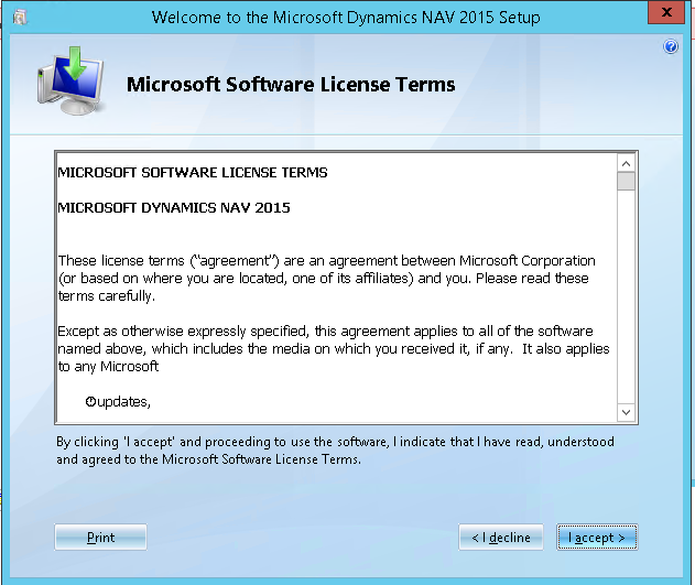 nav 2015 license terms
