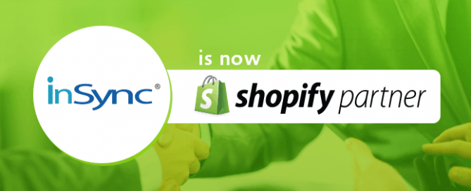 InSync is now a Shopify Partner