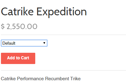 Catrike expedition