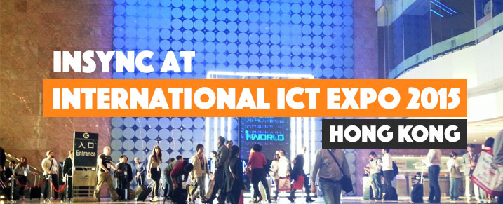 InSync at International ICT EXPO 2015