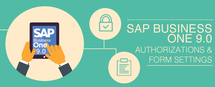 SAP Business One 9.0 Authorizations and Form Settings