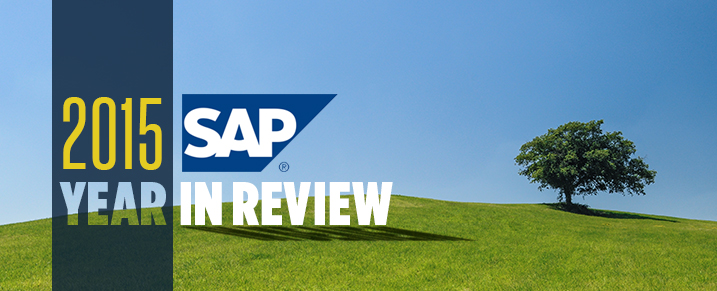 SAP - Year In Review 2015