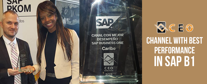 Our Partner, CEO Consultoria Wins 'Channel with Best Performance in SAP B1