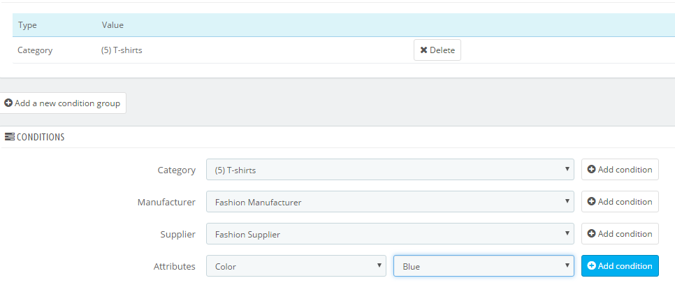 Pricing rules in prestashop 17 10 fandeluxe Image collections