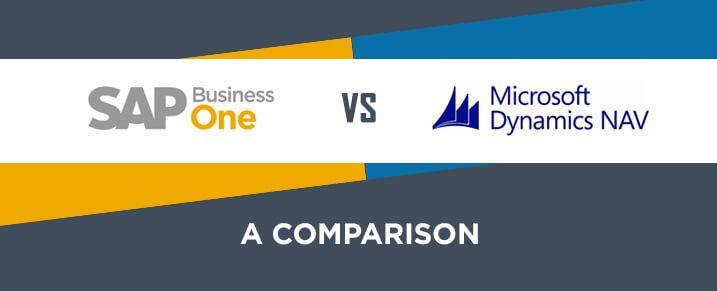 SAP Business One and MS Dynamics NAV - A Comparison
