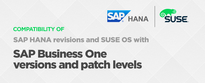 sap-hana-version-suse-os-compatibility-with-sap-b1