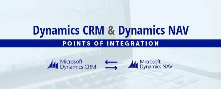 Integrate dynamics crm and dynamics nav