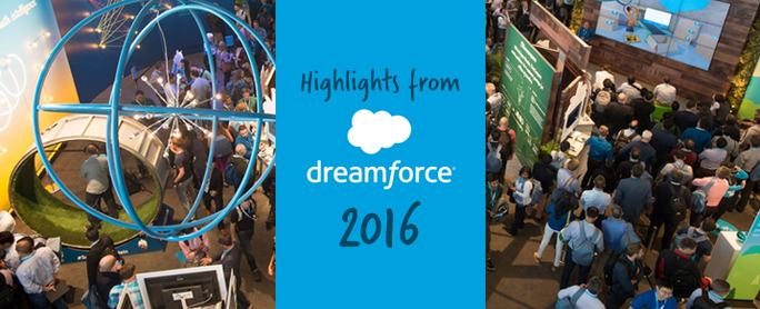 Highlights of Dreamforce 2016