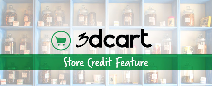 3DCart Issued Store Credit Feature