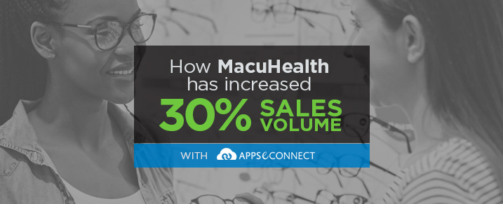 How MacuHealth has Increased sales with APPSeCONNECT