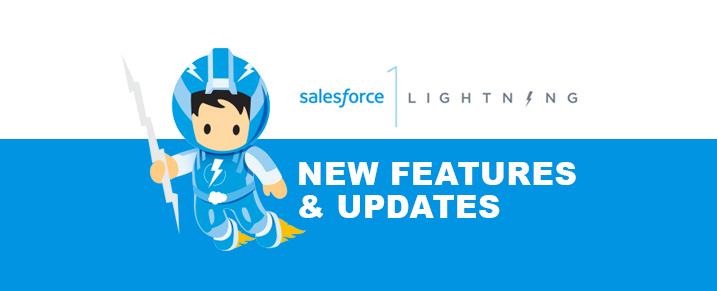 salesforce lightning new features and updates