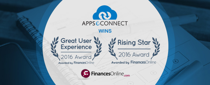 APPSeCONNECT Wins Great User Experience and Rising Star Awards