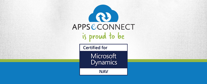 "APPSeCONNECT is proudly ""Certified For Microsoft Dynamics"""