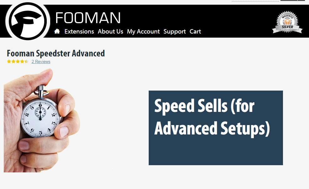 Fooman Speedster Magento Extension