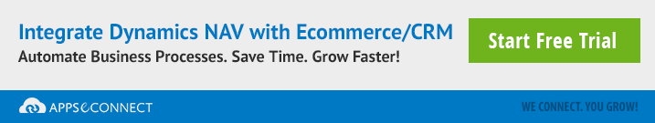 integrate nav with ecommerce or crm
