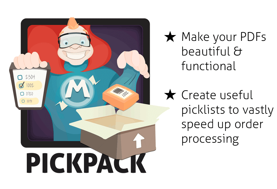 Pickpack Magento Extension