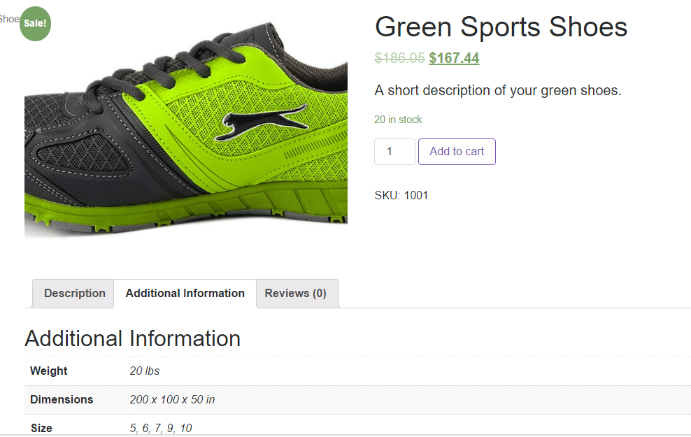 insert product in woocommerce store
