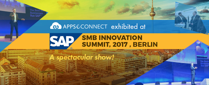 APPSeCONNECT at SAP SMB Innovation Summit 2017, Berlin