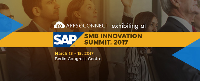 APPSeCONNECT exhibiting at SAP SMB Innovation Summit 2017