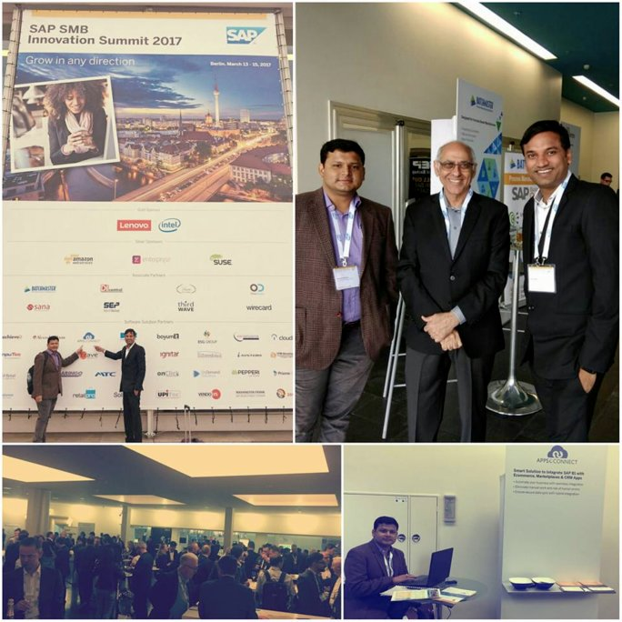 APPSeCONNECT in SAP SMB Innovation Summit 2017
