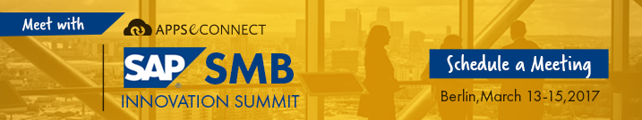 register for sap smb innovation summit 2017